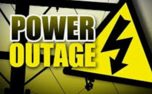 Power outage closed