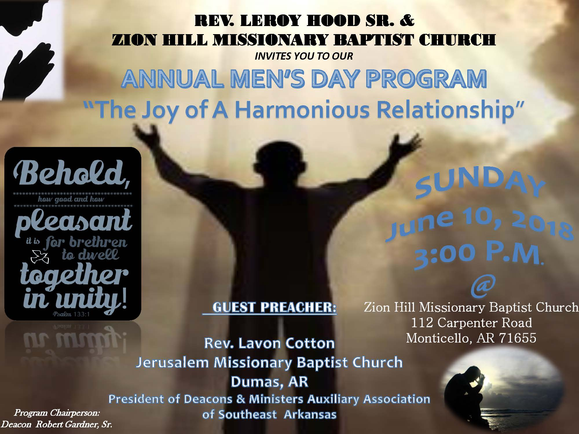 Mens Day Flyer  2018