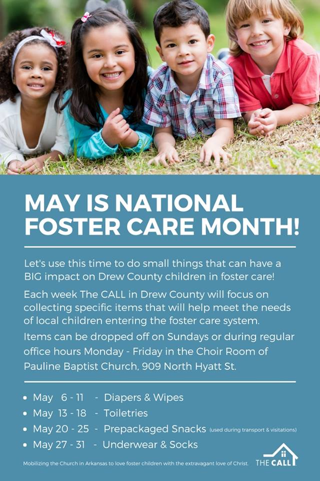 TheCALLMayFosterCareMonth