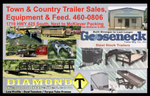 Town and country McKiever trailer feed equipment