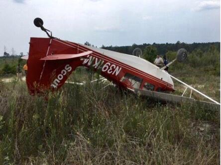 Union county plane crash