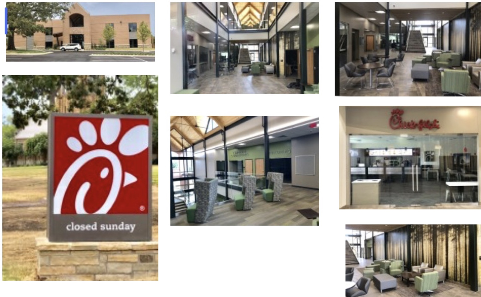 Student success center Chick-fil-A UAM