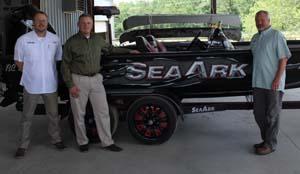 SeaArk President, VP of Sales and Congressman Westerman