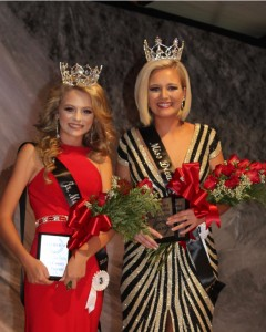 2018 Junior Miss Kelli Jo Stain and Miss Drew County Rachel Langley