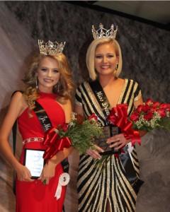 2018 Junior Miss Kelli Jo Stain and Miss Drew County Rachel Langley