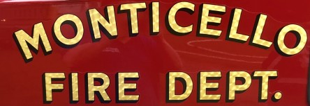 MFD Monticello fire department