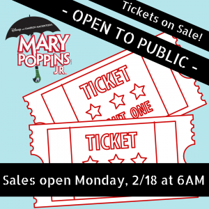 PUBLIC TICKET SALES