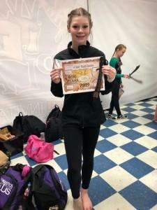 Level 4 Gymnast Madi Hobbs
