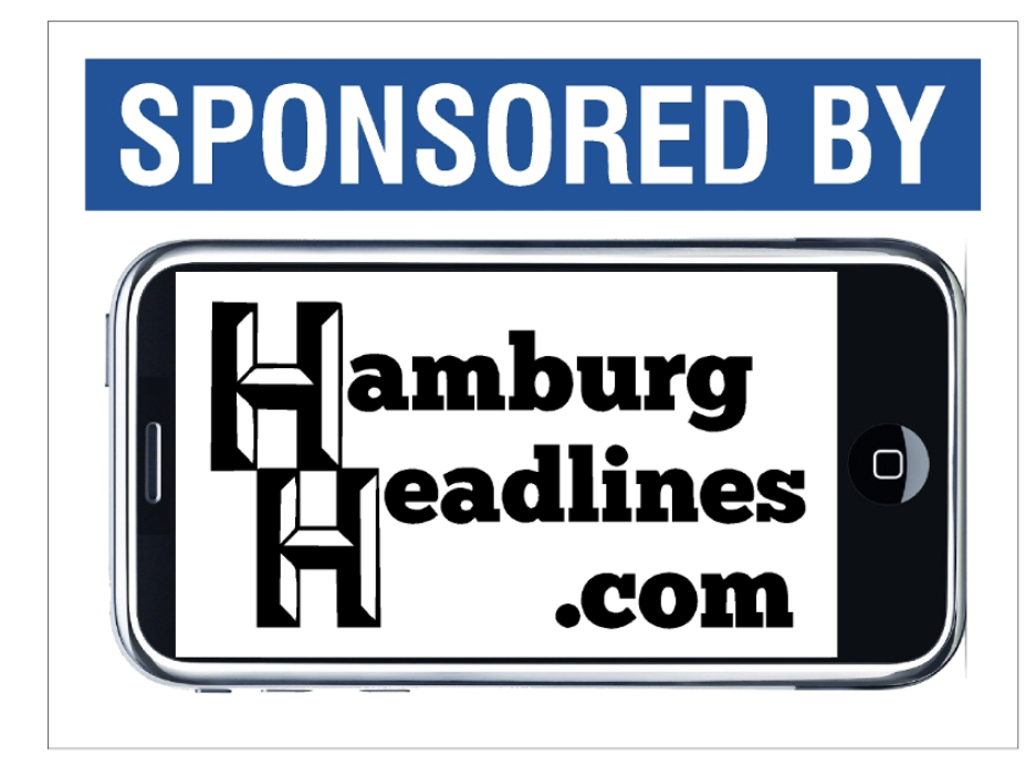 Hamburg headlines sponsored by