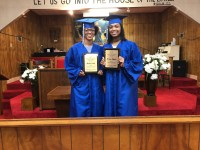 2019 Scholarship Recipients (L-R) Shania Smith and M'Leia Rhodes.