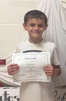 Weston Phillips, DCE Coloring Contest winner