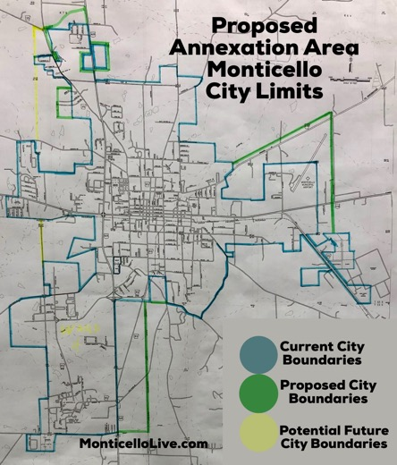 Proposed city Annexation map