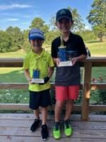 Boys' Age 7-9: 1st Place- Jack Akin 2nd Place- Mason Scogin