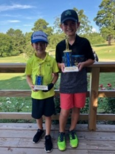 Boys' Age 7-9: 1st Place- Jack Akin 2nd Place- Mason Scogin