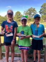 Girls' Age 10-12: 1st Place- Bliss Becker 2nd Place- Sophie Barrilleaux 3rd Place- Peyton Colwell
