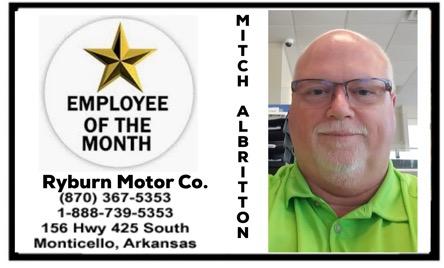 Employee Mitch Albritton
