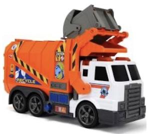 Trash truck dumpster