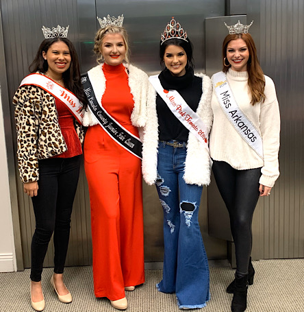 Special guests and judges included, Annagail Boren-Miss Drew County Jillian Rauls - Miss Lincoln County Junior Fair Queen Taylor Owen- Miss Pink Tomato Darynne Dahlem, Miss Arkansas