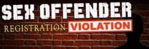Sex offender registration violation