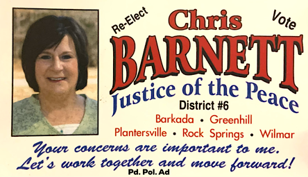 Reelect Chris Barnett