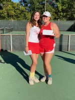 3rd Place Doubles Jordan Watson and Katie Cavaness