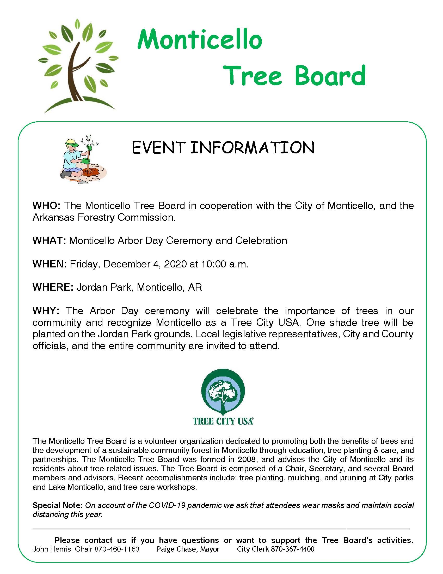 Monticello Arbor Day Announce 2020 Draft Revised 24 November