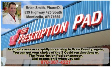 The Prescription Pad Pharmacy Covid vaccination vaccine