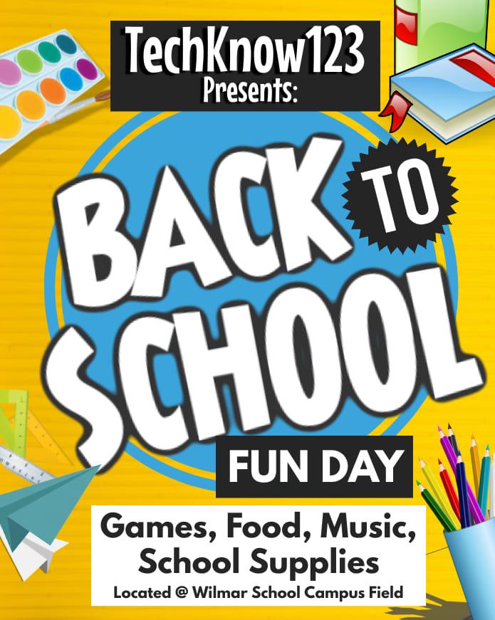 TechKnow123Back2SchoolFunDay
