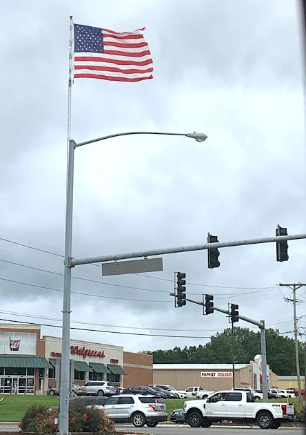 Walgreens flag