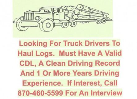 KK logistics log truck drivers